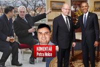 Komentář: Česko je zahraniční prostitutka, může za to Zeman se Sobotkou