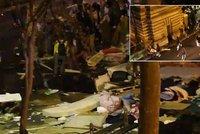 Drsná bitka u pařížské stanice metra: Migranti s tyčemi proti extremistům