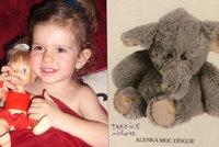 P�trac� akce po slon�kovi: Byl s Alenkou od narozen�, nechala ho v Hole�ovic�ch v supermarketu