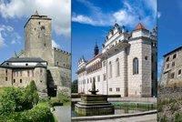 Nejkr�sn�j�� hrady a z�mky �eska: Pardubick� a Kr�lov�hradeck� kraj