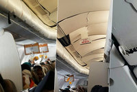 Praskl� strop a motlitby zran�n�ch. Let do Jakarty zm�nily turbulence v hororovou cestu