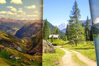 Letn� Alpy l�kaj� k p�� turistice! Objevte Rakousko z h�eben� hor