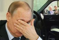 Armáda se Putinovi chlubila novým vozem, generál utrhl kliku
