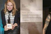 Havlov� napsala osobn� dopis pohas�naj�c� hv�zd� Issovi: On ho zve�ejnil!