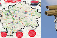 Kde v Praze na �of�ry ��haj� radary? Riskovat se nevyplat� na des�tk�ch m�st