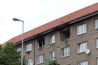 Po��r v Michli: Podle m�stn�ch v byt� v 5. pat�e bouchla varna drog