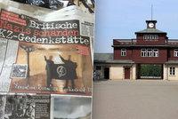 N�ckov� hajlovali v koncentra�n�m t�bo�e Buchenwald a fotili se p�i tom