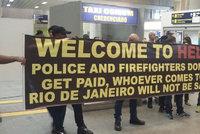 �V�tejte v pekle�: Brazilsk� policie varuje p�ed olympi�dou turisty