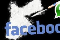 Facebooku zablokoval soud kv�li drog�m t�m�� 150 milion�