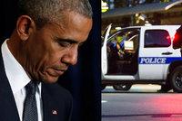 """""""Brutální a ohavné."""" Obama s Junckerem odsoudili vraždy policistů v Dallasu"""