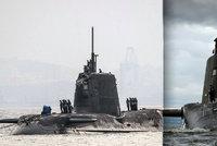 Britská jaderná ponorka se srazila s obchodní lodí: Lodi se nic nestalo, ponorka skončila v opravně!