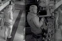 Zav�eli ji v baru: D�vka se zdarma najedla, napila, ukradla �kas�rku� a vysko�ila z okna