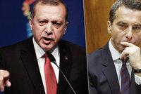Turecko v EU nechceme, hlásá rakouský kancléř. Ankara: Jste radikální rasisté!