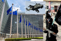 """Brusel """"zatočí"""" s teroristy. Potrestá i oslavné komentáře na Facebooku"""
