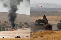 Turci posiluj� �invazi� proti Kurd�m do S�rie. ISIS tam pou�il chemick� zbran�