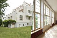 Architektonick� skvost k pron�jmu: Sedm pokoj� ve vile z roku 1932 za 110 tis�c