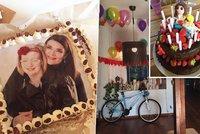 Dcera Mahuleny Bo�anov� u� je sle�na: Takhle slavila sv� 15. narozeniny