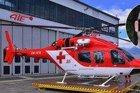 Pád záchranářského vrtulníku na Slovensku: Pacient byl opilý a vzpouzel se