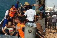 Exploze na lodi roztrhala turisty: 2 mrtví a 13 zraněných na Bali