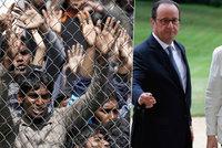 Uprchlíků v Řecku přibývá. Merkelová: Evropa musí zůstat kontintentem naděje