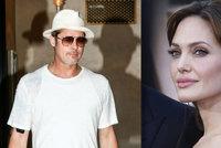 Jolie se �za�ila� do p�edem najat� vily: Lovci �p�ny jdou po Pittovi!