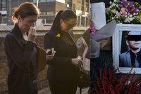 Vrah Zde�ka (�31) byl obvin�n. P��tel� uctili pam�tku �echa a neubr�nili se pl��i