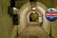 Utajovan� kryt v Brn�: Atomov� v�buch v n�m m�lo p�e��t 500 rud�ch pohlav�r�