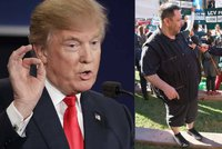 Xaver Vesel� byl p��mo v s�le prezidentsk� debaty: Hodil bych to Trumpovi!