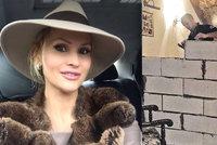 Rozvod na rusk� zp�sob: Soud rozhodl rozd�lit d�m za 60 milion� na dv� ��sti, do�lo na betonov�n�