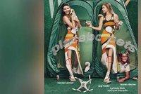 Zfu�ovan� retu� reklamn�ch fotek: Kam zmizela topmodelk�m kolena?
