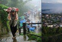 Nejmok�ej�� m�sto na Zemi: B�hem roku tu spadne na 12 metr� vody!
