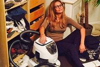 Moder�torka Petra Svoboda uk�zala nepo��dek u sebe doma: Dote� ho pr� nevid�la