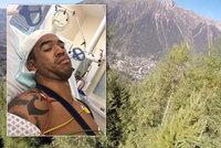 Seskok se změnil v boj o život: Muž narazil do stromů v rychlosti 145 km/h!