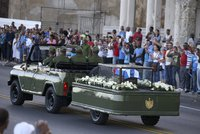 Poslední cesta diktátora Castra: Jeho popel putoval po trase Karavany svobody