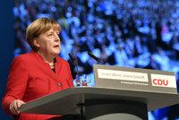 Merkelová vyrukovala proti islámu. Chce úplný zákaz zahalování obličeje