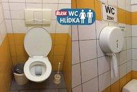 Omšelé, za to čisté a levné: WC hlídku toalety na I.P.Pavlova mile překvapily