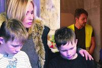 Pergnerová v Akci nový domov: Klukům záhadně zemřela máma, děda přišel i o druhou dceru