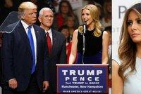 První dámou bude Ivanka Trump, Melania Bílým domem opovrhuje