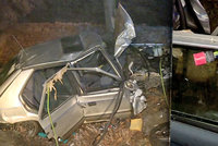 Sebevrah ve voze s výfukem zavedeným dovnitř přejel na Kladensku policistu, pak byl postřelen