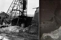 Výbuch na dole Nelson zabil 144 lidí: Plameny šlehaly 30 metrů vysoko