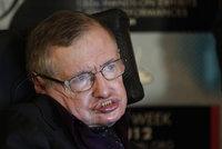 Věda zničí lidstvo. Do 100 let nás převálcují roboti, varuje Hawking