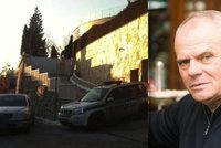 Drama v Kňažkově vile: Postřelený zloděj se z vily odplazil