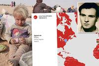 """Studenti spouští Encyklopedii migrace: """"Inspiruje nás Palachova oběť"""""""
