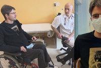 Zpověď ochrnutého moderátora Michala Jančaříka (41): Věří, že bude znovu chodit?