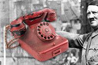 Dražba Hitlerova telefonu: Cena rudého aparátu může vyšplhat až na 7 milionů
