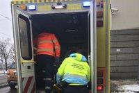 V Praze se ráno na náledí zranilo přes 20 lidí. Za měsíc jich je už skoro 500
