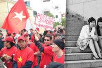 """Čeští Vietnamci mají stát ve státě. """"Banánové děti"""" promluvily o hladu a přežití"""