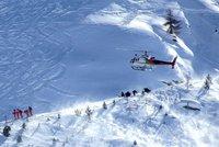 Lavina ve francouzských Alpách: Zabila nejméně čtyři lidi