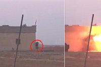 Bylo to jeho poprvé, smějí se sebevražednému atentátníkovi ISIS. Odpálil jenom sám sebe