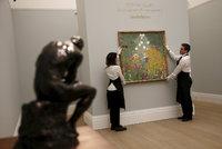 Aukční bitva o obraz Klimta. Za Květinovou zahradu dal kupec 1,5 miliardy